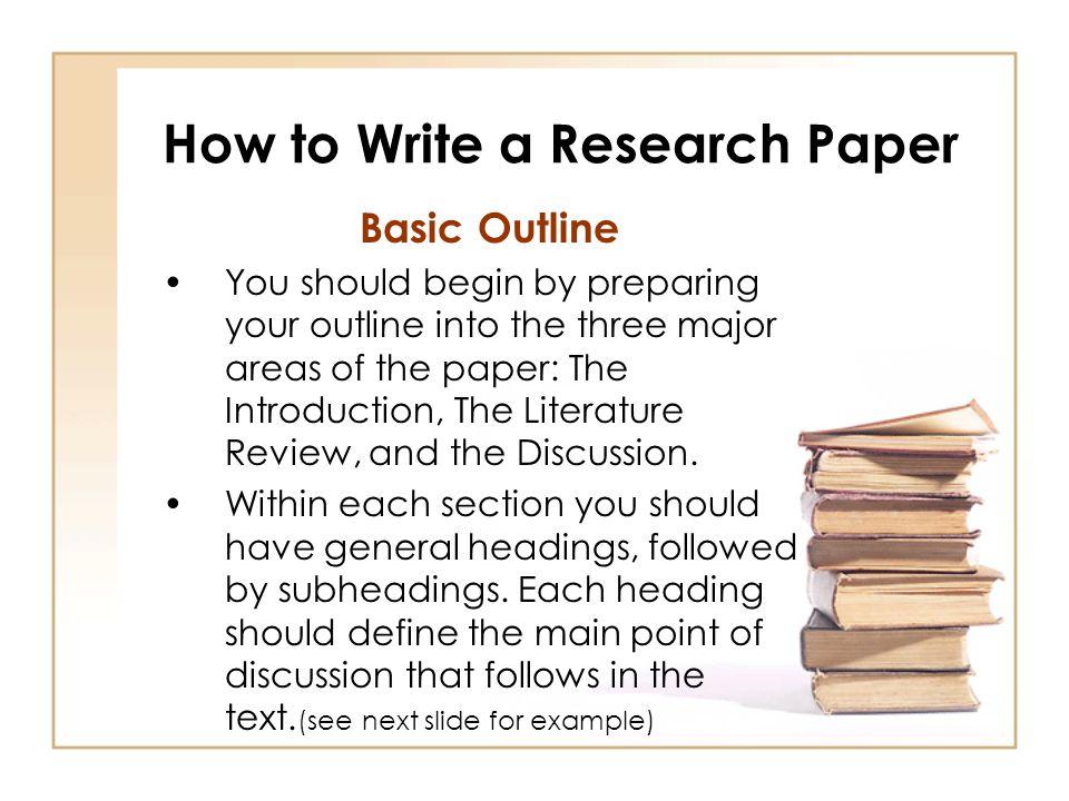 how to write a paper with citations